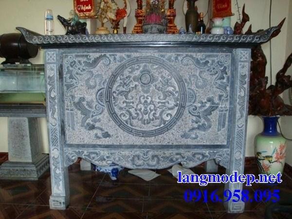 92 Mẫu bàn lễ nhà thờ họ đình đền chùa miếu khu lăng mộ bằng đá Thanh Hóa tại Phú Thọ