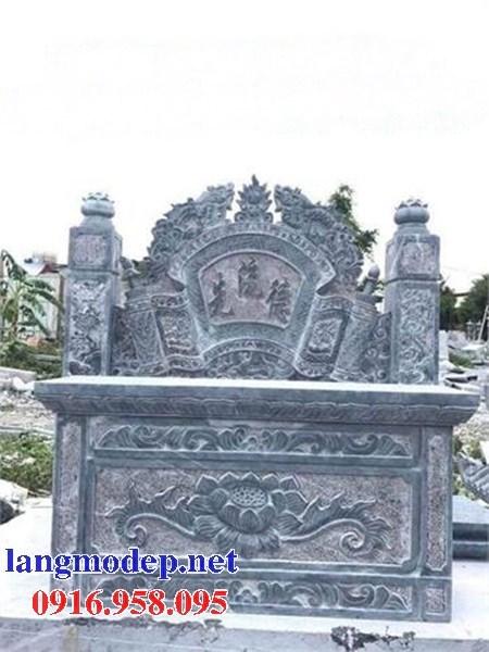 92 Mẫu bàn lễ nhà thờ họ đình đền chùa miếu khu lăng mộ bằng đá chạm khắc tinh xảo tại Phú Thọ
