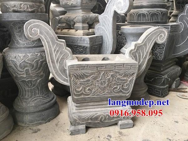 92 Mẫu bát hương bình bông nhà thờ họ đình đền chùa miếu khu lăng mộ bằng đá bán tại Phú Thọ