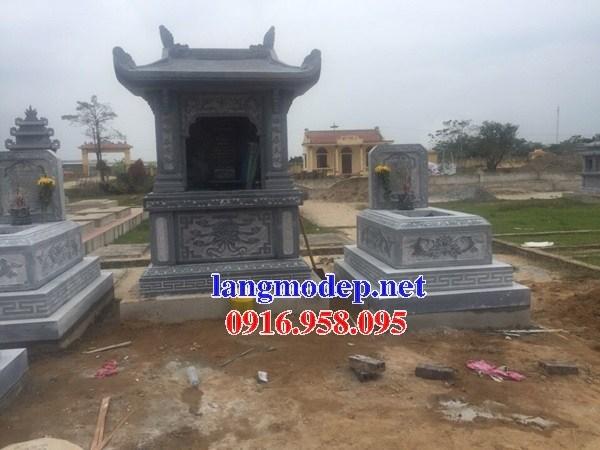 92 Mẫu cây hương miếu thờ thần linh nhà thờ họ đình đền chùa miếu khu lăng mộ bằng đá thiết kế đẹp tại Phú Thọ