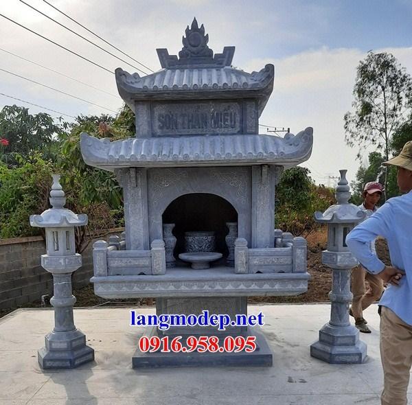 92 Mẫu cây hương miếu thờ thần linh nhà thờ họ đình đền chùa miếu khu lăng mộ bằng đá thiết kế hiện đại tại Phú Thọ