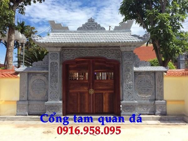 92 Mẫu cổng nhà thờ họ bằng đá tại Phú Thọ