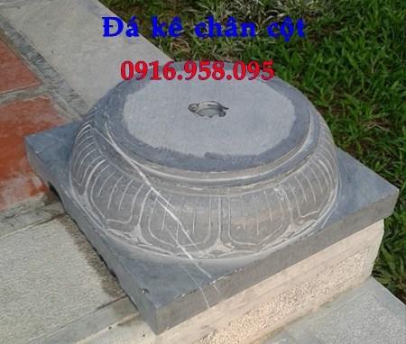 92 Mẫu chân cột chân tảng nhà thờ họ đình đền chùa miếu khu lăng mộ bằng đá đặt tại Phú Thọ