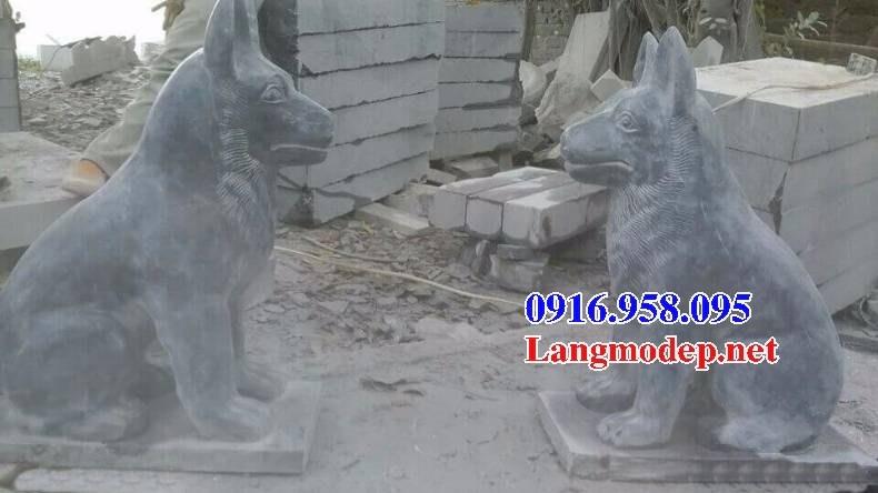 92 Mẫu chó phong thủy nhà thờ họ đình đền chùa miếu khu lăng mộ bằng đá Thanh Hóa tại Phú Thọ