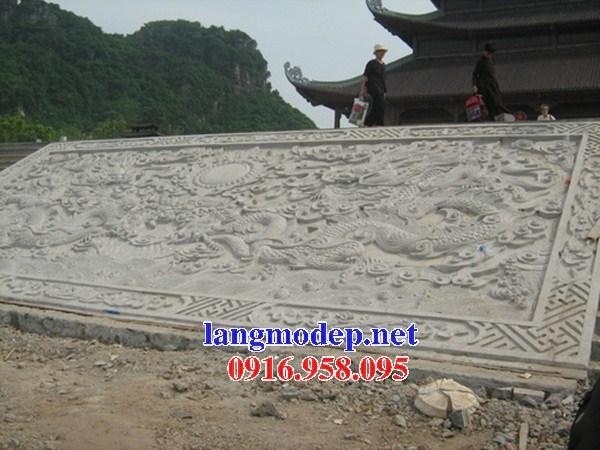 92 Mẫu chiếu rồng nhà thờ họ đình đền chùa miếu khu lăng mộ bằng đá tự nhiên cao cấp tại Phú Thọ