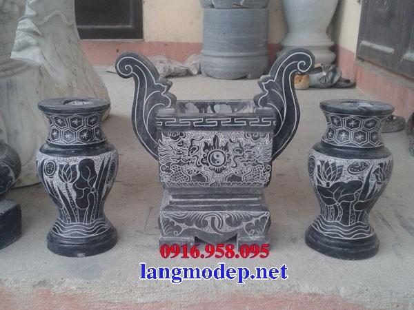 92 Mẫu lư hương đỉnh đèn nhà thờ họ đình đền chùa miếu khu lăng mộ bằng đá tự nhiên cao cấp tại Phú Thọ