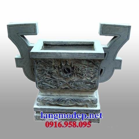 92 Mẫu lư hương đỉnh đèn nhà thờ họ đình đền chùa miếu khu lăng mộ bằng đá thiết kế đẹp tại Phú Thọ