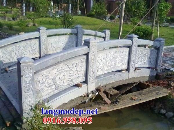 92 Mẫu lan can tường rào nhà thờ họ đình đền chùa miếu khu lăng mộ bằng đá tại Phú Thọ