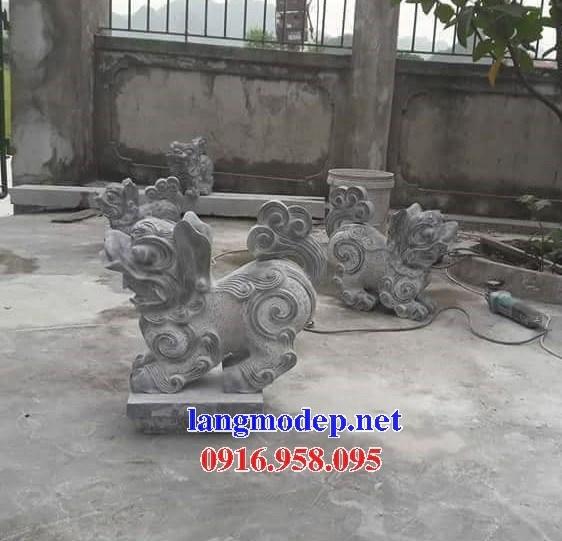 92 Mẫu nghê phong thủy nhà thờ họ đình đền chùa miếu khu lăng mộ bằng đá tại Phú Thọ