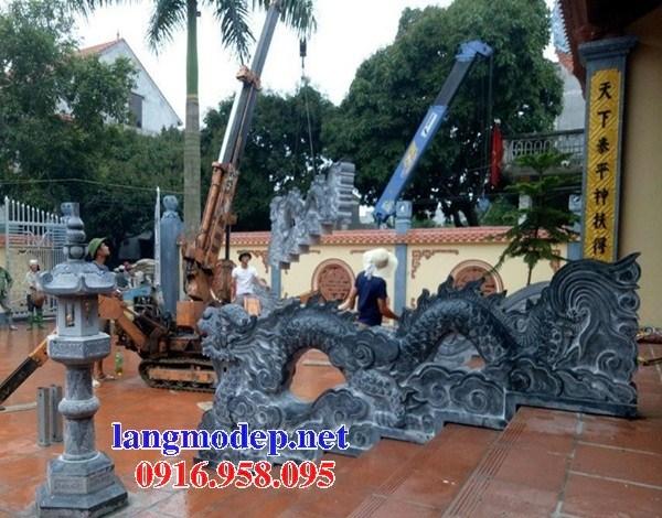 92 Mẫu rồng nhà thờ họ đình đền chùa miếu khu lăng mộ bằng đá đặt tại Phú Thọ