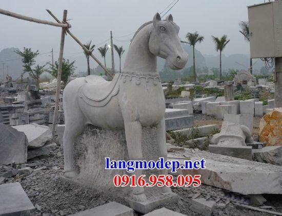 95 Mẫu Địa chỉ bán báo giá ngựa phong thủy nhà thờ họ đình đền chùa miếu khu lăng mộ bằng đá tại Lào Cai