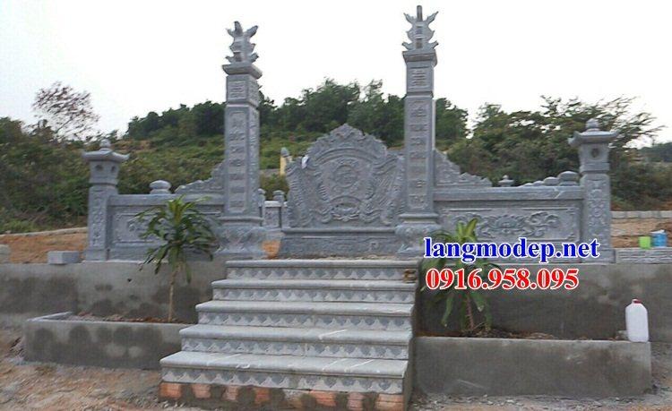 95 Mẫu đá lát nền ốp tường nhà thờ họ đình đền chùa miếu khu lăng mộ bằng đá thiết kế cơ bản tại Lào Cai