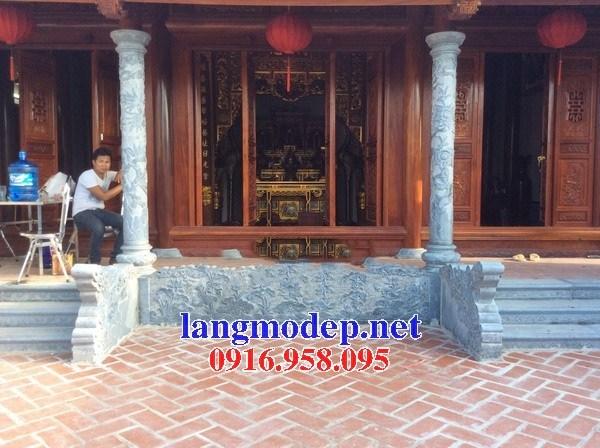 95 Mẫu Hình ảnh cột đá cột đồng trụ nhà thờ họ đình đền chùa miếu khu lăng mộ bằng đá tại Lào Cai