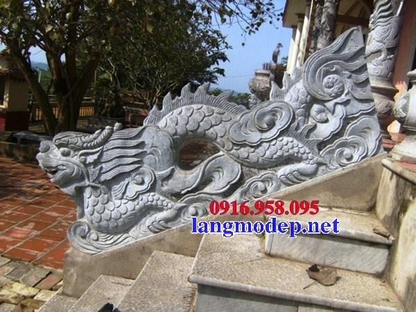 95 Mẫu Hình ảnh rồng bậc thềm nhà thờ họ đình đền chùa miếu khu lăng mộ bằng đá tại Lào Cai