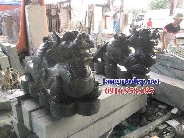 95 Mẫu Hình ảnh tỳ hưu phong thủy nhà thờ họ đình đền chùa miếu khu lăng mộ bằng đá tại Lào Cai