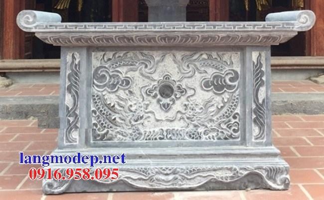 95 Mẫu bàn lễ nhà thờ họ đình đền chùa miếu khu lăng mộ bằng đá đẹp tại Lào Cai