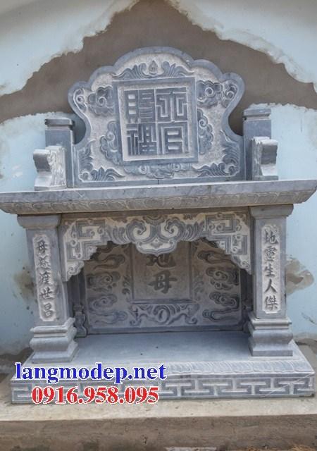 95 Mẫu bàn lễ nhà thờ họ đình đền chùa miếu khu lăng mộ bằng đá thiết kế đẹp tại Lào Cai