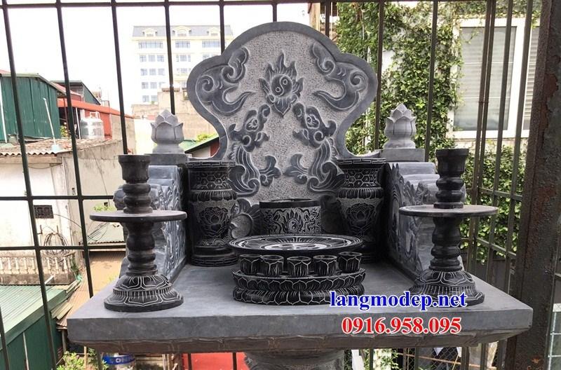 95 Mẫu bát hương bình bông nhà thờ họ đình đền chùa miếu khu lăng mộ bằng đá đặt tại Lào Cai