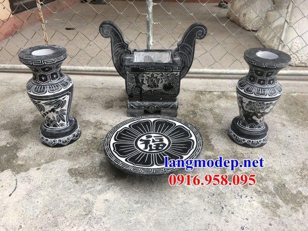 95 Mẫu bát hương bình bông nhà thờ họ đình đền chùa miếu khu lăng mộ bằng đá đẹp tại Lào Cai