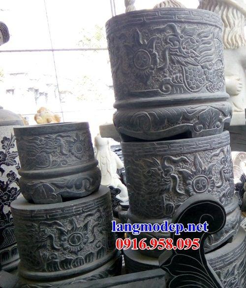 95 Mẫu bát hương bình bông nhà thờ họ đình đền chùa miếu khu lăng mộ bằng đá tại Lào Cai