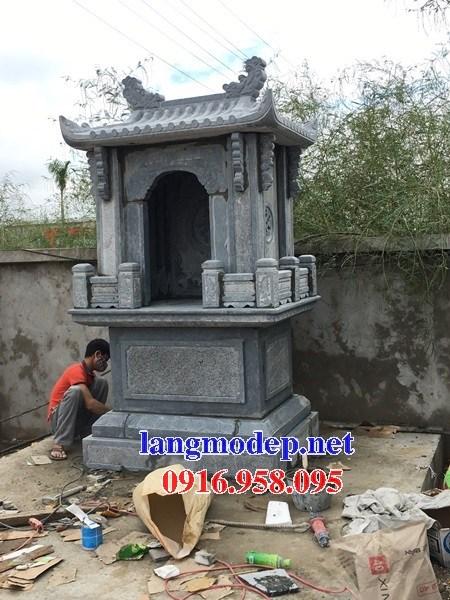 95 Mẫu cây hương miếu thờ thần linh nhà thờ họ đình đền chùa miếu khu lăng mộ bằng đá thiết kế đẹp tại Lào Cai