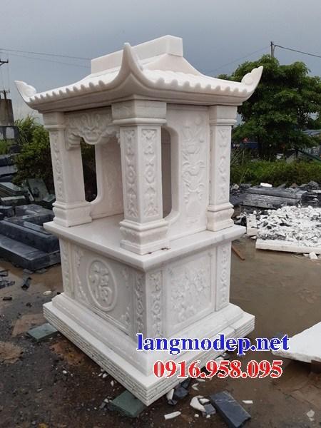 95 Mẫu cây hương miếu thờ thần linh nhà thờ họ đình đền chùa miếu khu lăng mộ bằng đá trắng tại Lào Cai