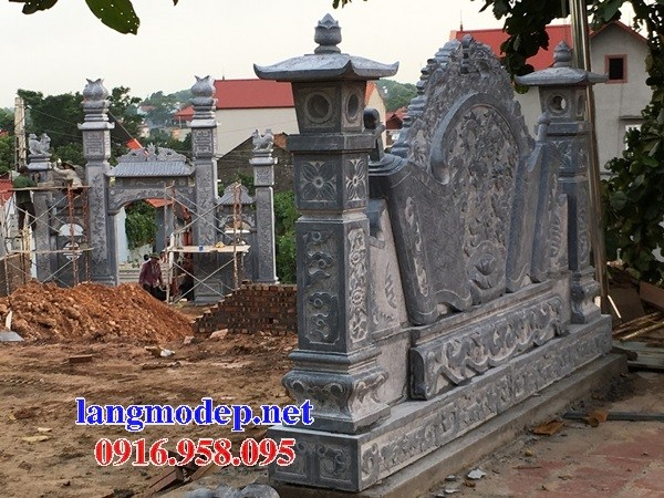 95 Mẫu cổng nhà thờ họ đình đền chùa miếu khu lăng mộ bằng đá tại Lào Cai