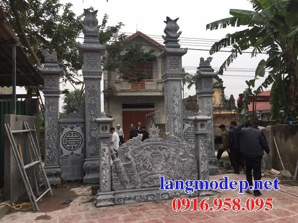 95 Mẫu cổng nhà thờ họ bằng đá tại Lào Cai