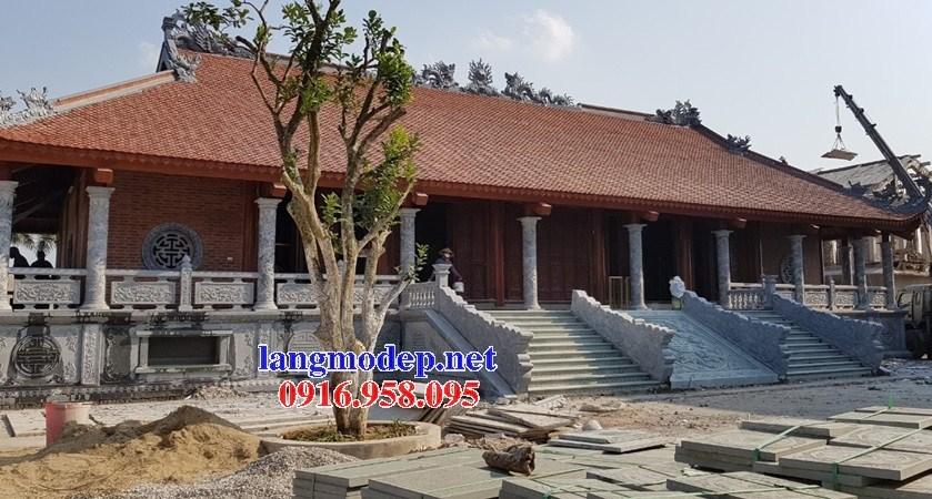 95 Mẫu cột đá cột đồng trụ nhà thờ họ đình đền chùa miếu khu lăng mộ bằng đá tự nhiên tại Lào Cai