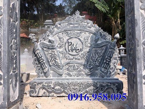 95 Mẫu cuốn thư bức bình phong nhà thờ họ đình đền chùa miếu khu lăng mộ bằng đá chạm khắc tinh xảo tại Lào Cai