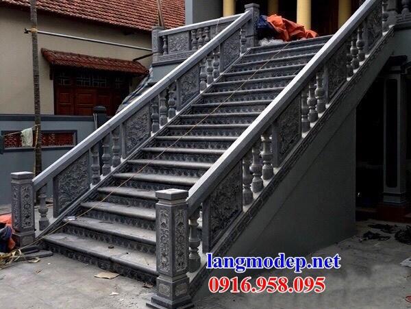 95 Mẫu lan can tường rào nhà thờ họ đình đền chùa miếu khu lăng mộ bằng đá tại Lào Cai