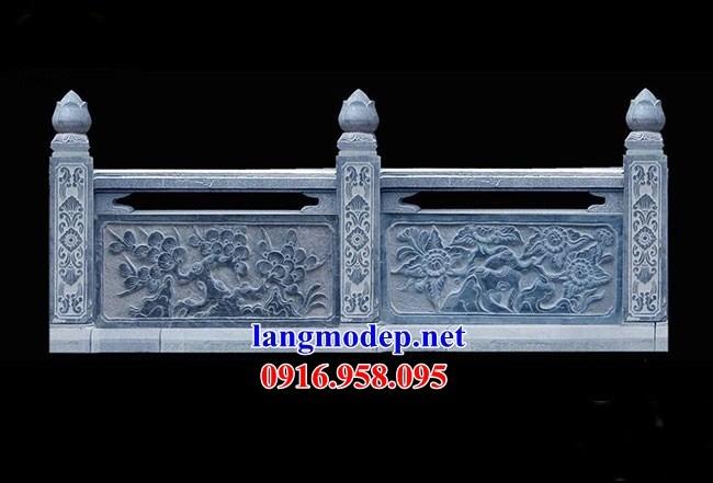 95 Mẫu lan can tường rào nhà thờ họ đình đền chùa miếu khu lăng mộ bằng đá thiết kế đẹp tại Lào Cai