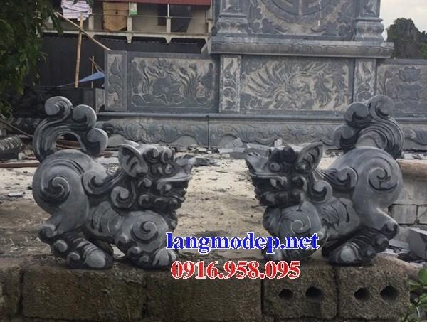 95 Mẫu nghê phong thủy nhà thờ họ đình đền chùa miếu khu lăng mộ bằng đá đặt tại Lào Cai