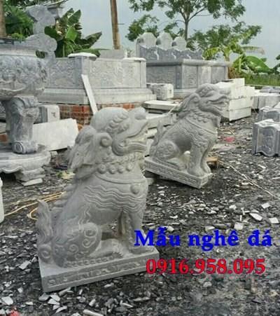 95 Mẫu nghê phong thủy nhà thờ họ đình đền chùa miếu khu lăng mộ bằng đá chạm khắc tinh xảo tại Lào Cai