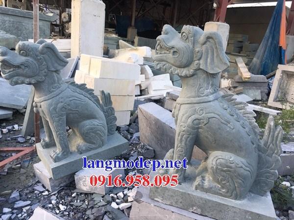 95 Mẫu nghê phong thủy nhà thờ họ đình đền chùa miếu khu lăng mộ bằng đá tại Lào Cai
