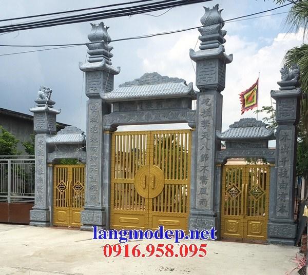 95 Mẫu nhà thờ họ bằng đá tại Lào Cai
