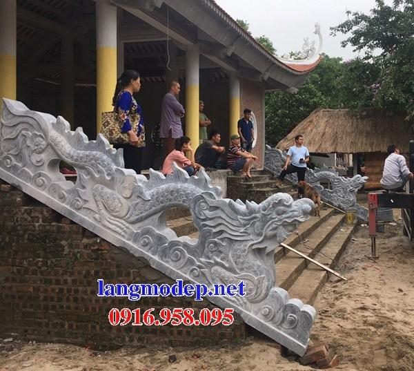 95 Mẫu rồng bậc thềm nhà thờ họ đình đền chùa miếu khu lăng mộ bằng đá tại Lào Cai