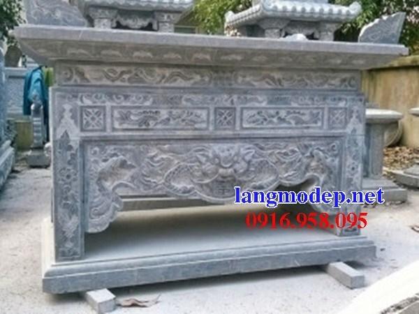 110 Mẫu bàn lễ nhà thờ họ đình đền chùa miếu khu lăng mộ bằng đá chạm khắc tinh xảo tại Quảng Trị