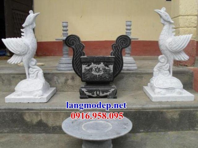 110 Mẫu bát hương bình bông nhà thờ họ đình đền chùa miếu khu lăng mộ bằng đá trắng tại Quảng Trị
