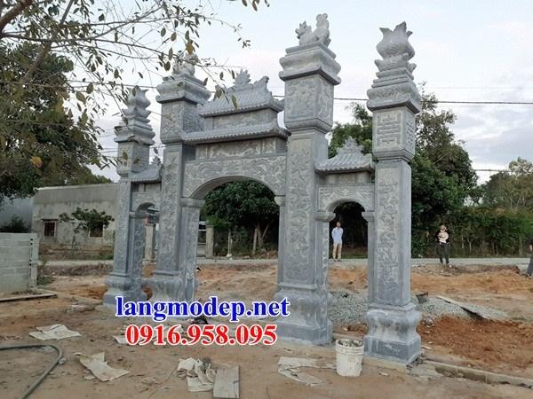 110 Mẫu cổng tam quan nhà thờ họ đình đền chùa miếu khu lăng mộ bằng đá Ninh Bình tại Quảng Trị