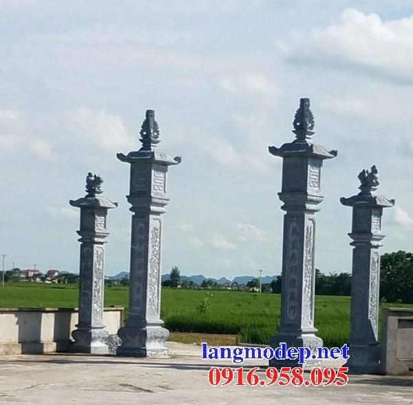 110 Mẫu cổng tam quan nhà thờ họ đình đền chùa miếu khu lăng mộ bằng đá nguyên khối tại Quảng Trị