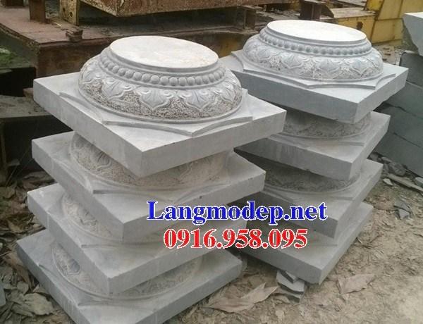 110 Mẫu chân cột chân tảng nhà thờ họ đình đền chùa miếu khu lăng mộ bằng đá Ninh Bình tại Quảng Trị
