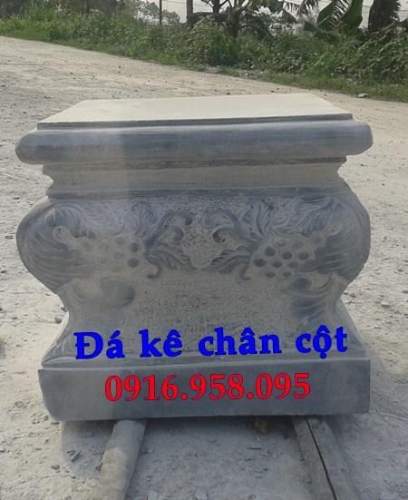 110 Mẫu chân cột chân tảng nhà thờ họ đình đền chùa miếu khu lăng mộ bằng đá chạm khắc tinh xảo tại Quảng Trị