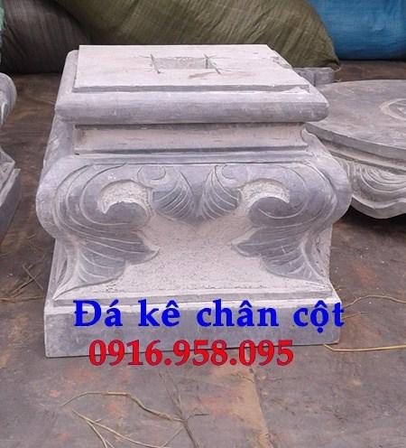 110 Mẫu chân cột chân tảng nhà thờ họ đình đền chùa miếu khu lăng mộ bằng đá nguyên khối tại Quảng Trị