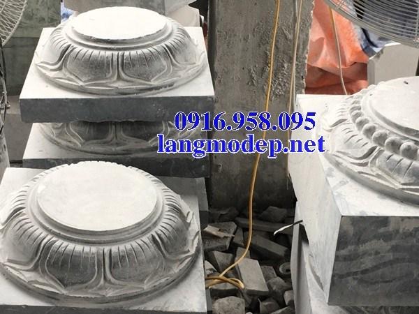 110 Mẫu chân cột chân tảng nhà thờ họ đình đền chùa miếu khu lăng mộ bằng đá tại Quảng Trị