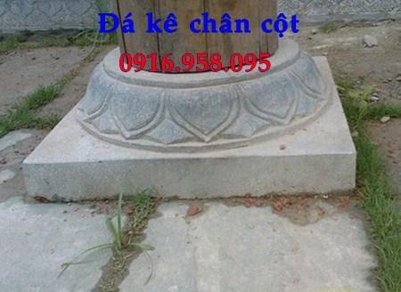 110 Mẫu chân cột chân tảng nhà thờ họ đình đền chùa miếu khu lăng mộ bằng đá thi công lắp đặt tại Quảng Trị