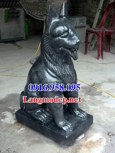 110 Mẫu chó phong thủy nhà thờ họ đình đền chùa miếu khu lăng mộ bằng đá tự nhiên cao cấp tại Quảng Trị