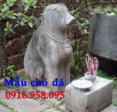 110 Mẫu chó phong thủy nhà thờ họ đình đền chùa miếu khu lăng mộ bằng đá thờ cúng tại Quảng Trị