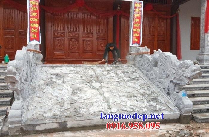110 Mẫu chiếu rồng nhà thờ họ đình đền chùa miếu khu lăng mộ bằng đá nguyên khối tại Quảng Trị