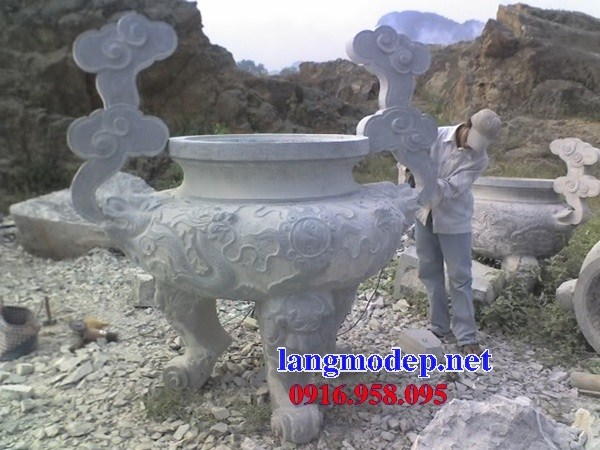 110 Mẫu lư hương đỉnh đèn nhà thờ họ đình đền chùa miếu khu lăng mộ bằng đá tự nhiên tại Quảng Trị